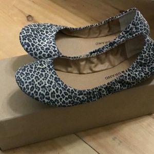 Lucky Brand Leopard Print Emmie Flats